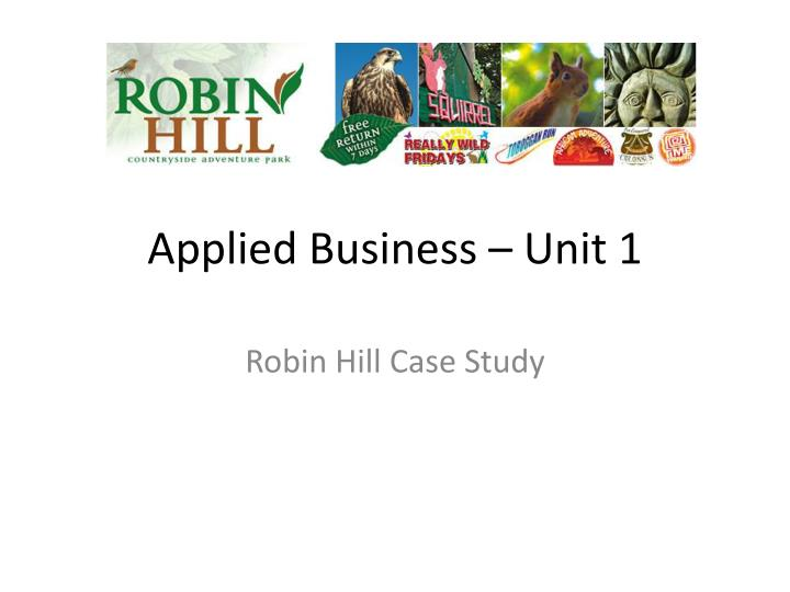 Applied business unit 1