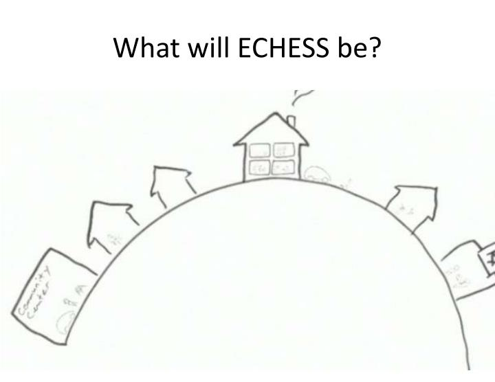 What will ECHESS be?