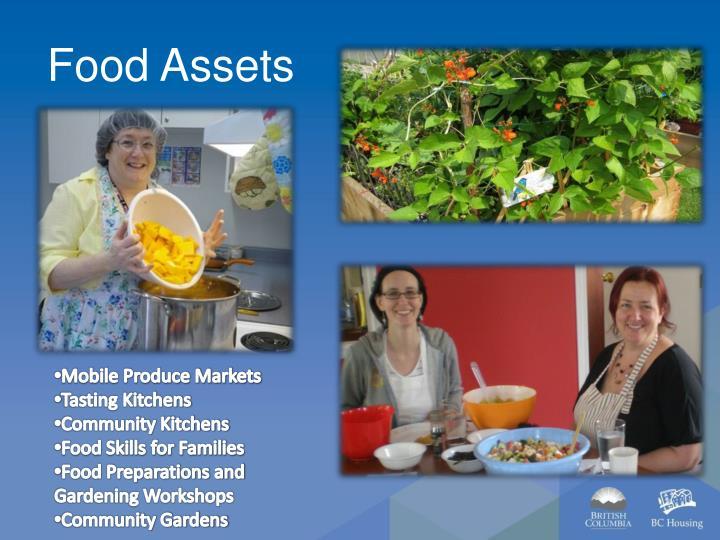 Food Assets