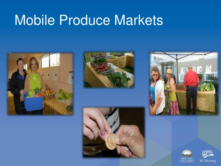 Mobile Produce Markets