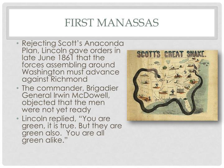 First Manassas