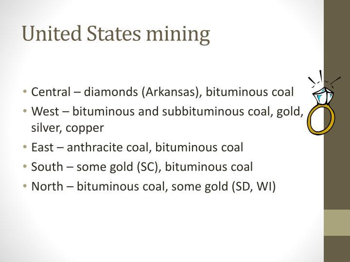 United States mining