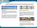 examples of ibm clean grid green grid renewable generation projects