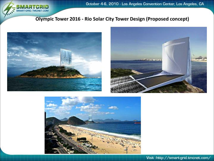 Olympic Tower 2016 - Rio Solar City Tower Design (Proposed concept)