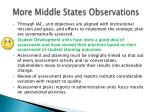 more middle states observations