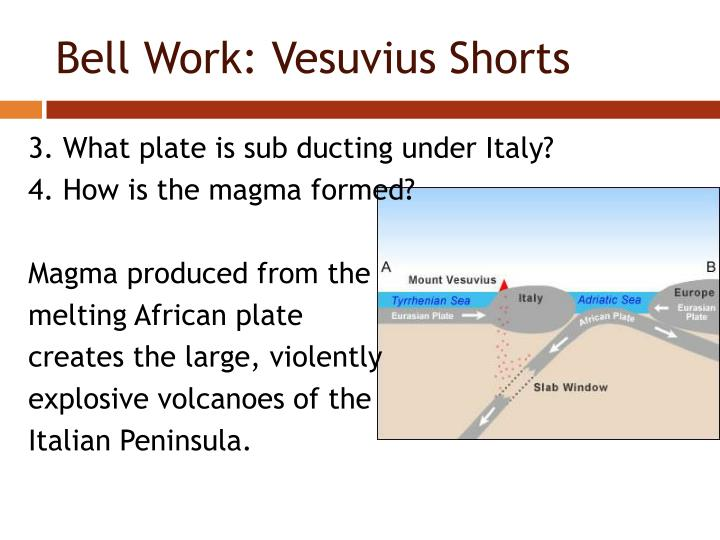 Bell Work: Vesuvius Shorts