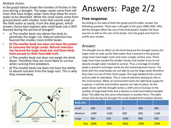 Answers:  Page 2/2