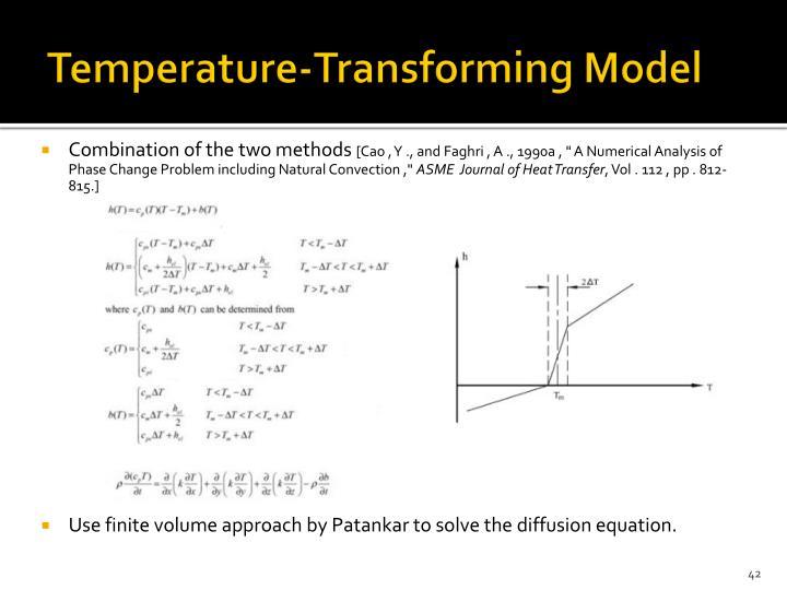Temperature-Transforming Model