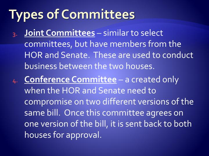 PPT - Committees in congress PowerPoint Presentation - ID ...