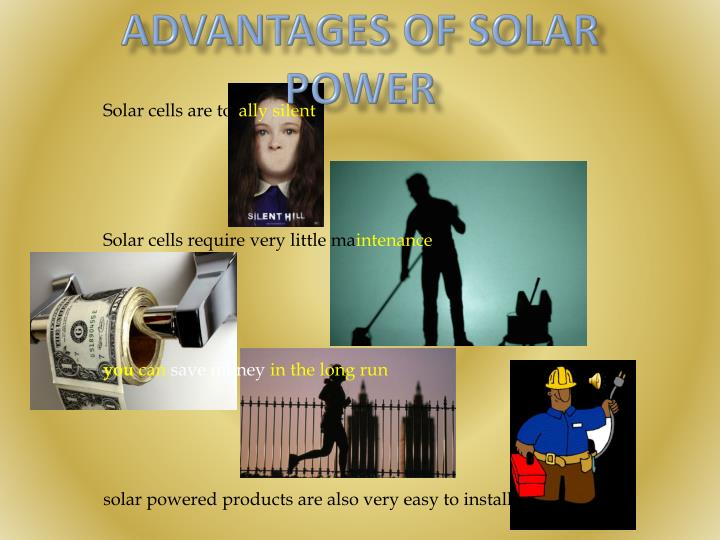 Advantages of Solar Power