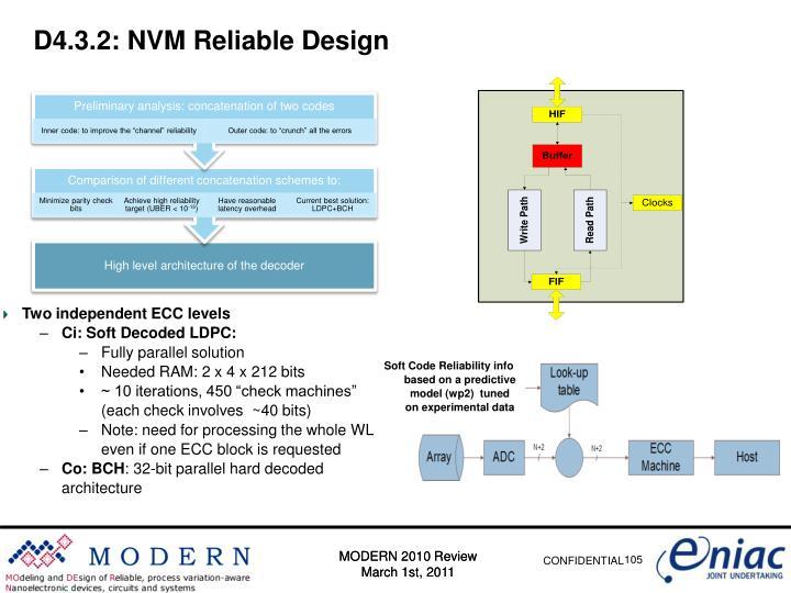 D4.3.2: NVM Reliable Design