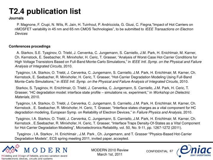 T2.4 publication
