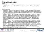 t2 4 publication list