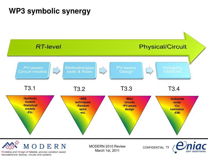WP3 symbolic synergy