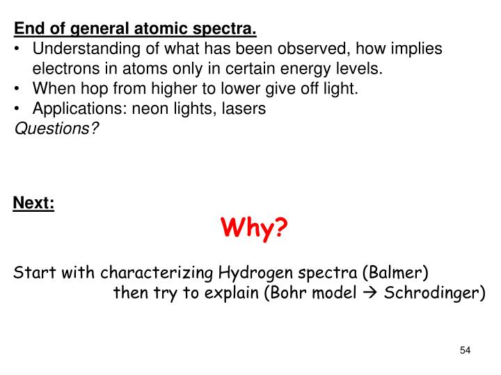 End of general atomic spectra.