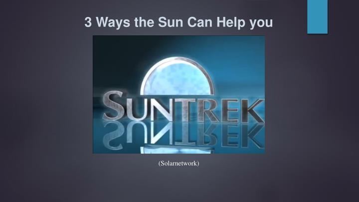3 Ways the
