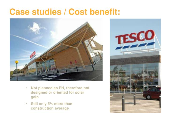 Case studies cost benefit1