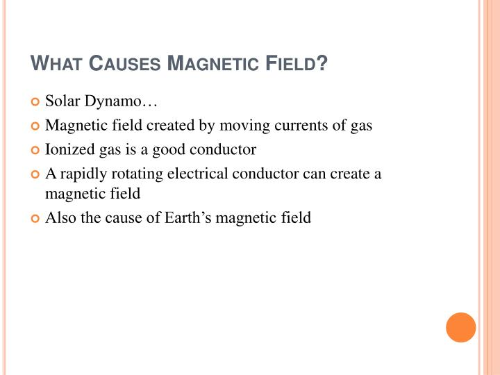 What Causes Magnetic Field?