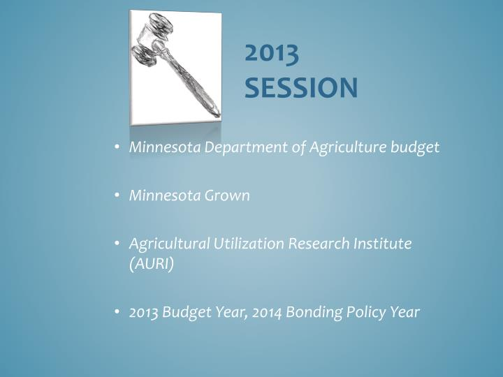 Minnesota Department of Agriculture budget