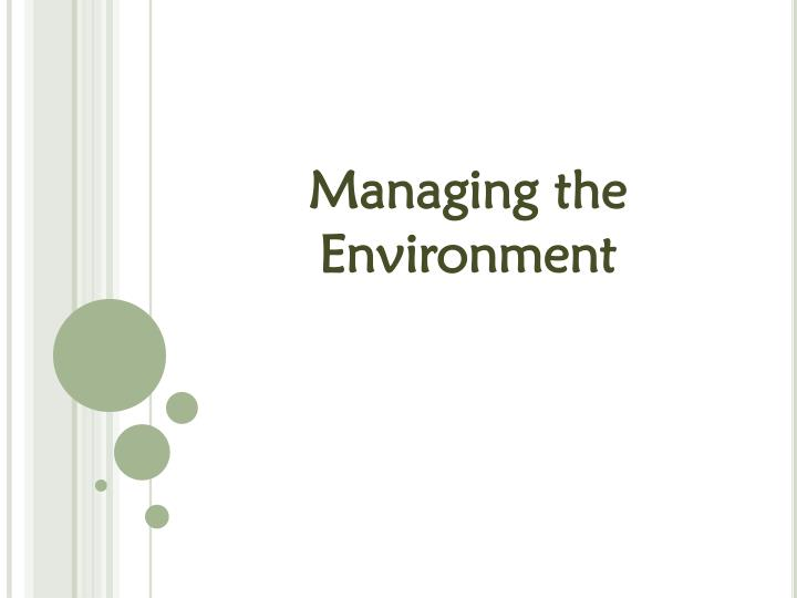 the multifaceted environment Information about international environment law laws to protect the environment and to advocate environmental law requires a multifaceted.