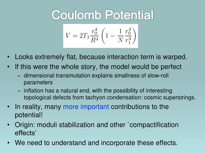 Coulomb Potential