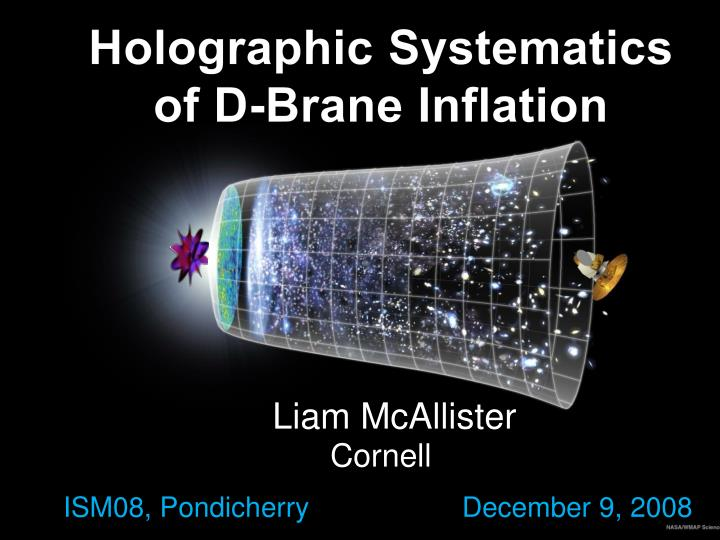 Holographic systematics of d brane inflation