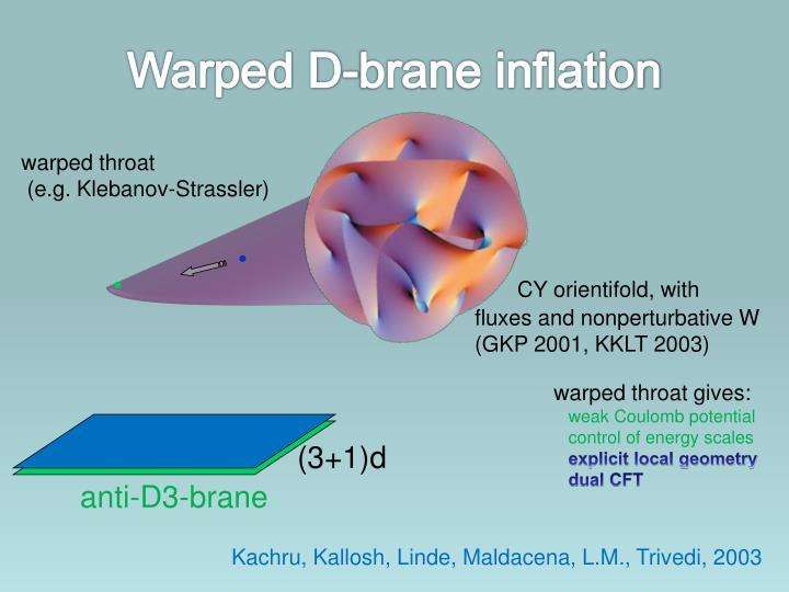 Warped D-brane inflation