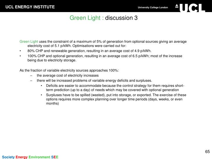 Green Light :
