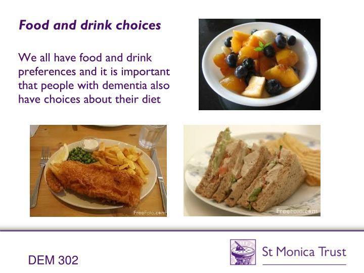understand and meet the nutritional requirements of an individual with dementia Specification for level 3 diploma in health and social care (adults) dem 310 understand the diversity of individuals with dementia and the dem 302 understand and meet the nutritional requirements of individuals with dementia.