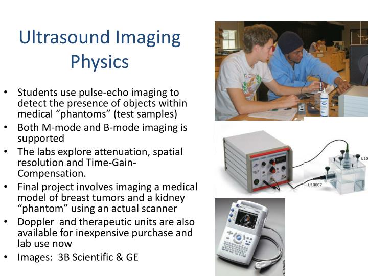 Ultrasound Imaging Physics
