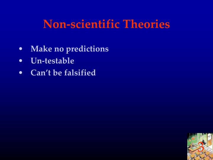 Non-scientific Theories