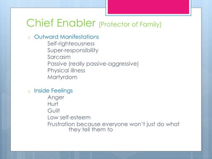 Chief Enabler