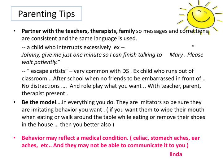 Parenting Tips