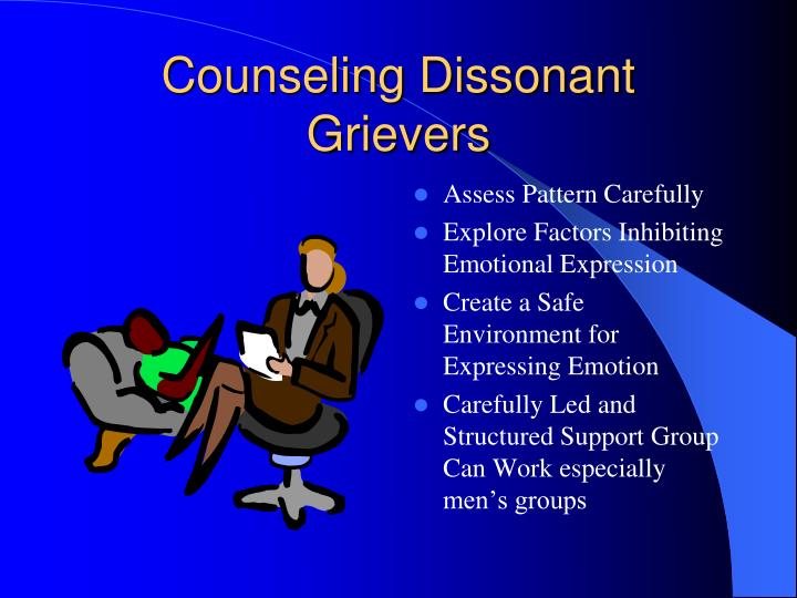Counseling Dissonant Grievers