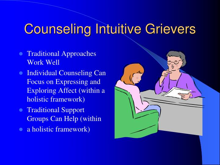 Counseling Intuitive Grievers