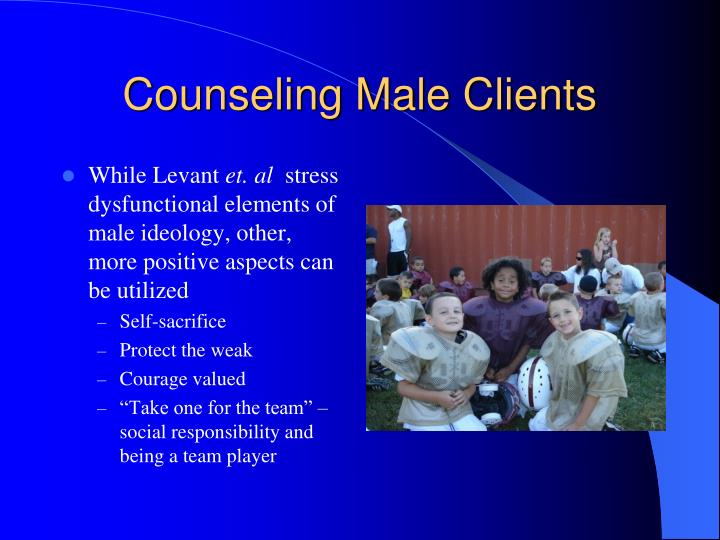 Counseling Male Clients