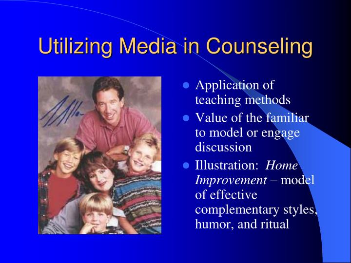 Utilizing Media in Counseling