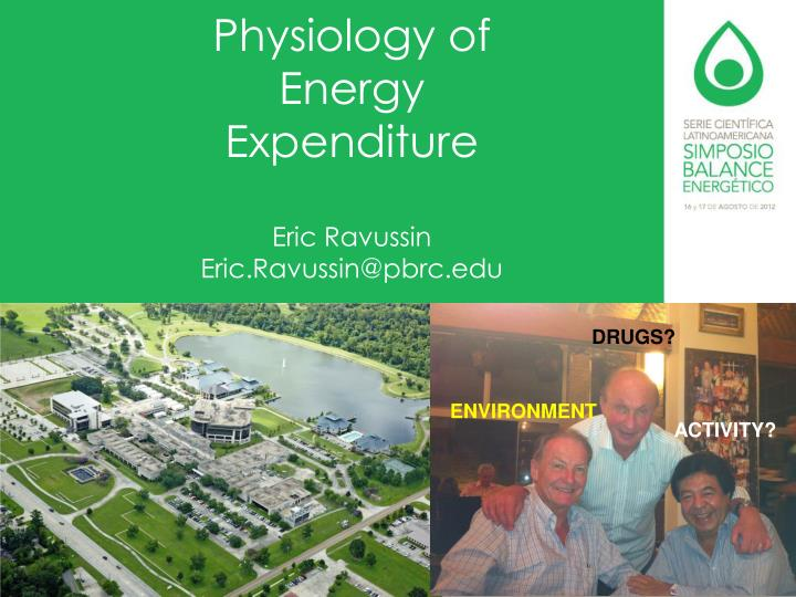 Physiology of Energy Expenditure