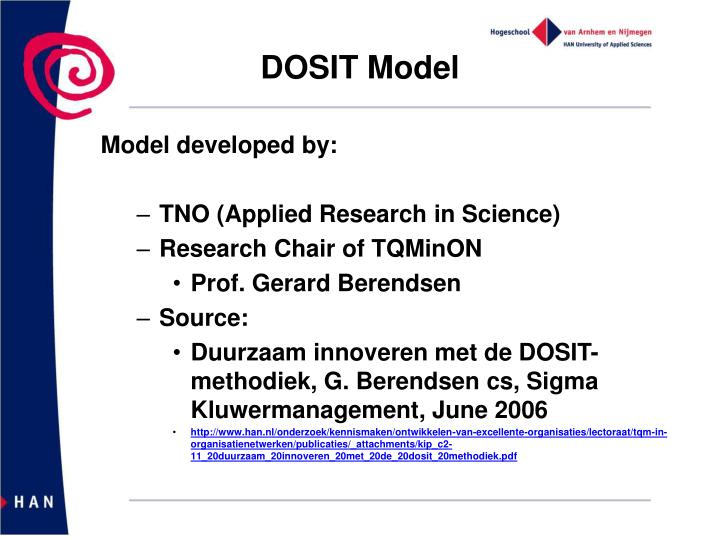 DOSIT Model
