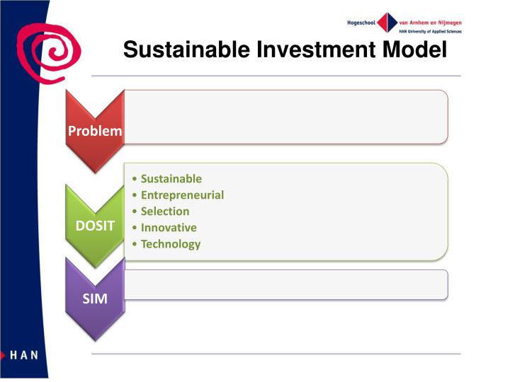 Sustainable Investment Model