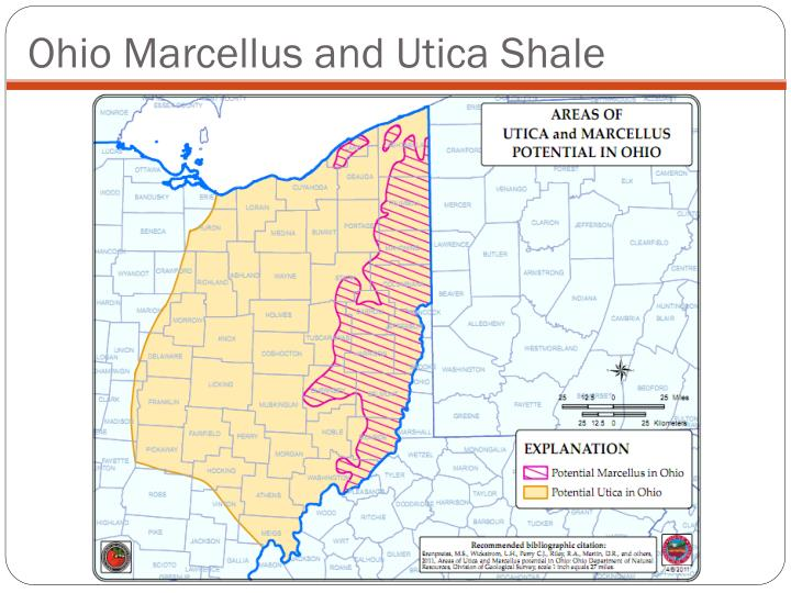 Ohio Marcellus and Utica Shale