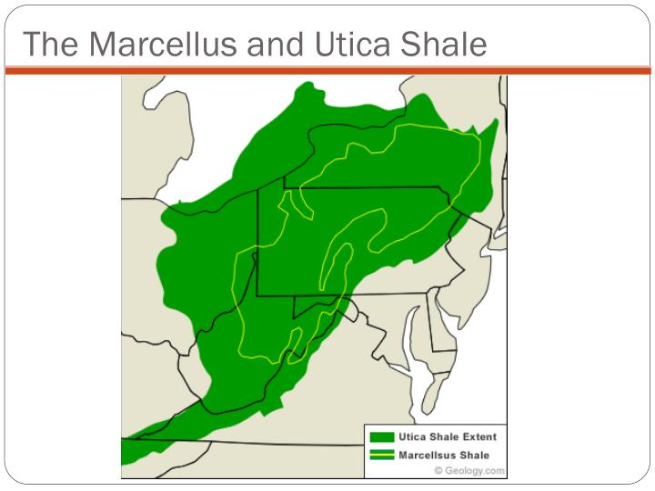 The Marcellus and Utica Shale