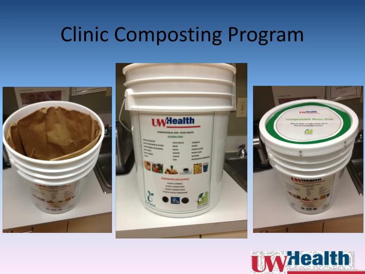 Clinic Composting Program