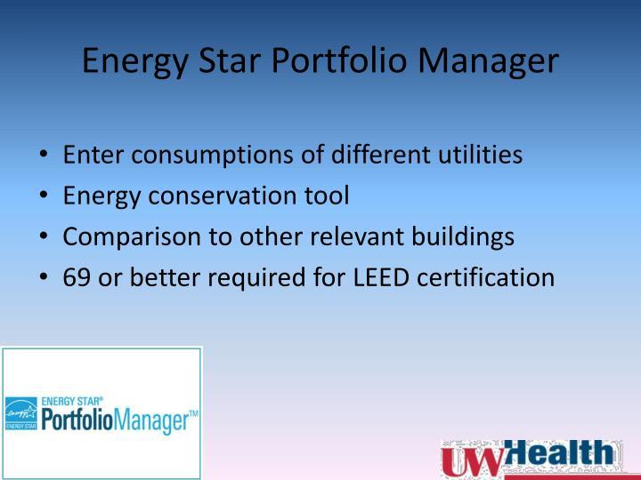 Energy Star Portfolio Manager