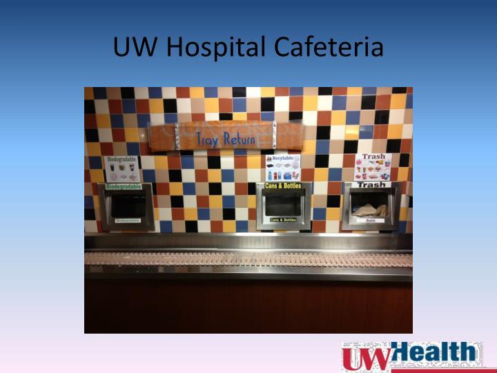 UW Hospital Cafeteria