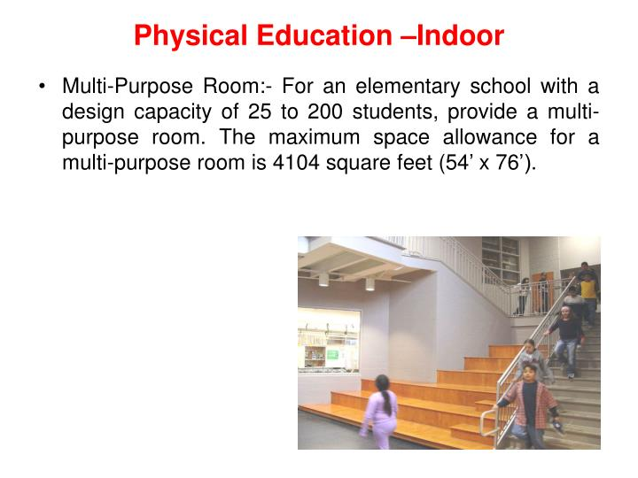 Physical Education –Indoor