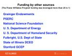 funding by other sources the power affiliates program funding was leveraged more than 25 to 1