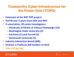 trustworthy cyber infrastructure for the power grid tcipg