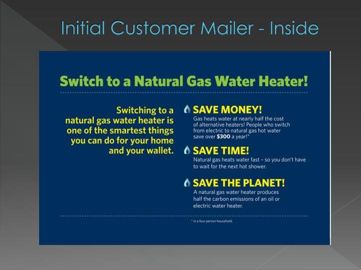 Initial Customer Mailer - Inside