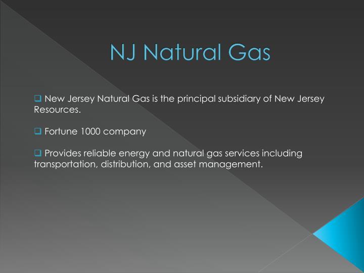 NJ Natural Gas